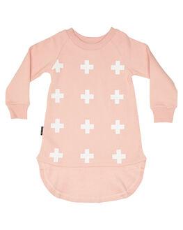 PINK KIDS TODDLER GIRLS TINY TRIBE DRESSES + PLAYSUITS - TTGF19-5015APINK