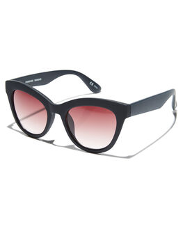 BLACK WOMENS ACCESSORIES MINKPINK SUNGLASSES - MNP1808245BLK