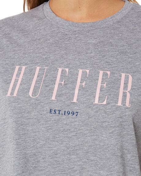 GREY MARLE WOMENS CLOTHING HUFFER TEES - WTE94S72-398GRYMA