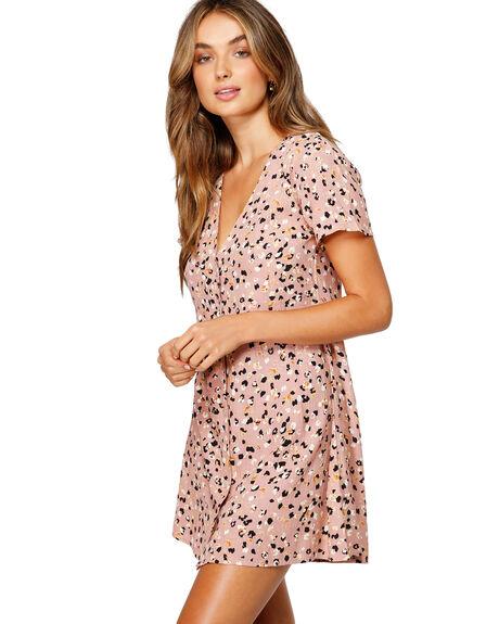 BROWN WOMENS CLOTHING RVCA DRESSES - RV-R491756-BRN