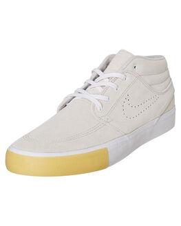 WHITE MENS FOOTWEAR NIKE SKATE SHOES - CD6576-109