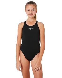 BLACK KIDS GIRLS SPEEDO SWIMWEAR - 42642-9600BLK