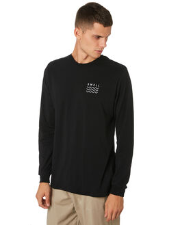 BLACK MENS CLOTHING SWELL TEES - S5193101BLACK