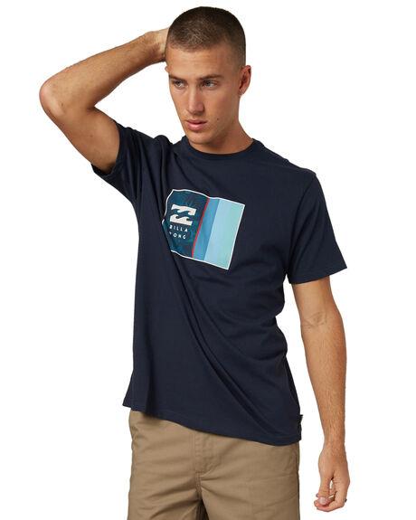 NAVY MENS CLOTHING BILLABONG TEES - 9585021NVY