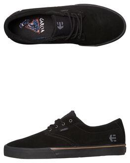 BLACK BLACK GUM MENS FOOTWEAR ETNIES SKATE SHOES - 4101000449-544