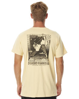 MUSTARD MENS CLOTHING DEAD KOOKS TEES - DKSSTEE01MUS