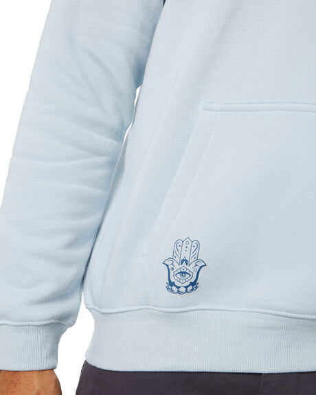 POWDER BLUE MENS CLOTHING NO NEWS HOODIES + SWEATS - N5214441PBLU