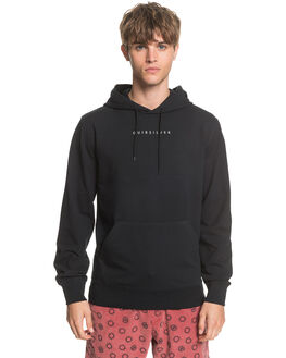 BLACK MENS CLOTHING QUIKSILVER JUMPERS - EQYFT04087-KVJ0