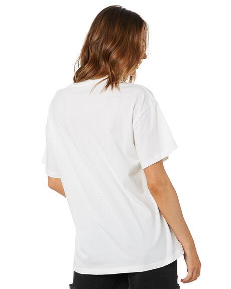 VINTAGE WHITE WOMENS CLOTHING UNIVERSAL TEES - STONES652VWHT