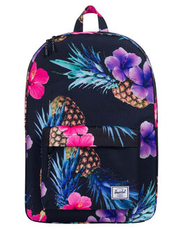 BLACK PINAPPLE WOMENS ACCESSORIES HERSCHEL SUPPLY CO BAGS - 10001-01852BKPNE