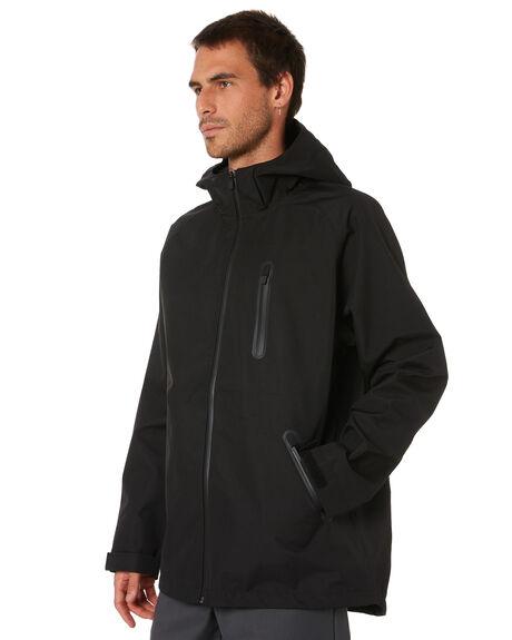 BLACK MENS CLOTHING HUFFER JACKETS - MRJA02J1301BLK