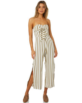 CILOU STRIPE WOMENS CLOTHING SANCIA PLAYSUITS + OVERALLS - 709ACIL