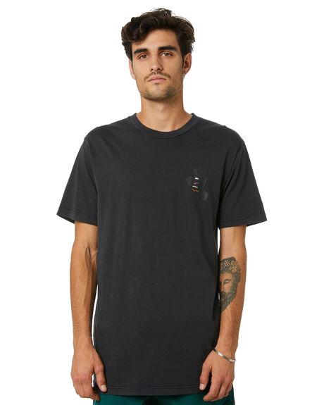 ANTIQUE BLACK MENS CLOTHING SANTA CRUZ TEES - SC-MTD0800ANTQBLK