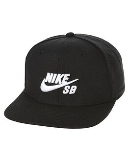 BLACK WHITE MENS ACCESSORIES NIKE HEADWEAR - 628683013