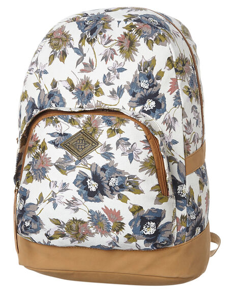 459dec6229a6 Volcom Vacations Womens Canvas Backpack - Vintage White