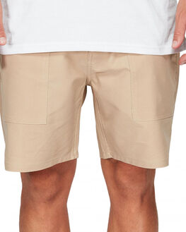 WARM SAND MENS CLOTHING QUIKSILVER SHORTS - EQYWS03587-TGS0