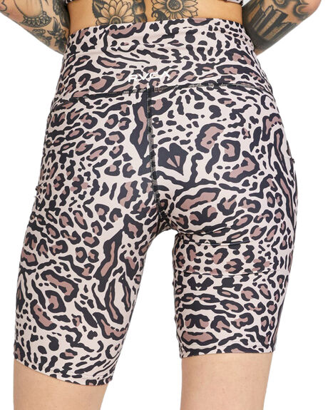 GRAY LEO WOMENS CLOTHING RVCA ACTIVEWEAR - RV-R417320-GYO