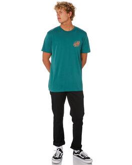 PIGMENT TEAL MENS CLOTHING SANTA CRUZ TEES - SC-MTA0485PGTEA