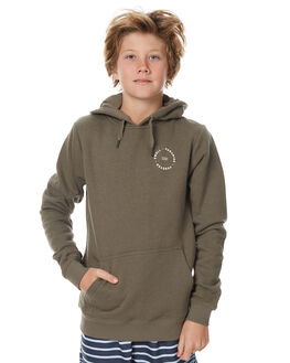 WASHED OLIVE KIDS BOYS SWELL JUMPERS - S3174441WOLV
