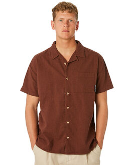RUST OUTLET MENS MISFIT SHIRTS - MT092402RUST