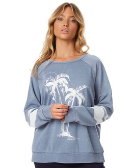 BLUE WOMENS CLOTHING RIP CURL JUMPERS - GFEAI80070