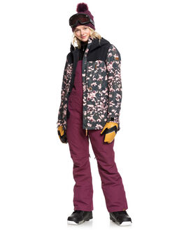 GRAPE WINE BOARDSPORTS SNOW ROXY WOMENS - ERJTP03084-PSF0
