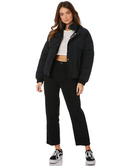 BLACK WOMENS CLOTHING ELWOOD JACKETS - W91502BLK