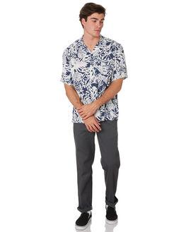 BLUE TIKI PRINT MENS CLOTHING CARHARTT SHIRTS - I02614304B