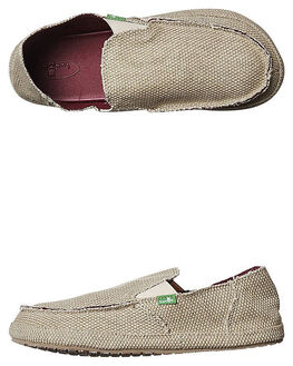 TAN MENS FOOTWEAR SANUK SLIP ONS - SMF10113TAN