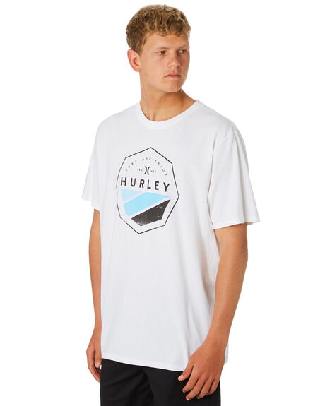 WHITE MENS CLOTHING HURLEY TEES - CD7594100