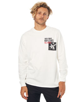 NOT WHITE MENS CLOTHING NO NEWS TEES - N5171102NOTWH