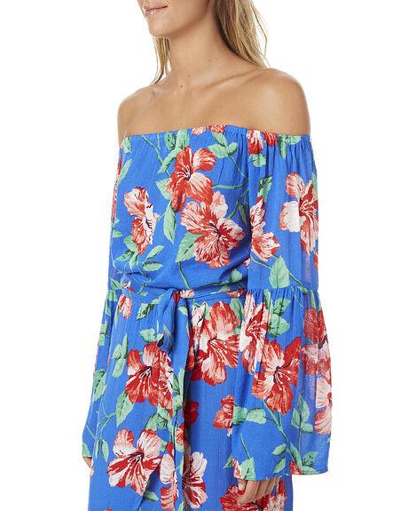 BLUE JAY WOMENS CLOTHING BILLABONG FASHION TOPS - 6575091BLUJ