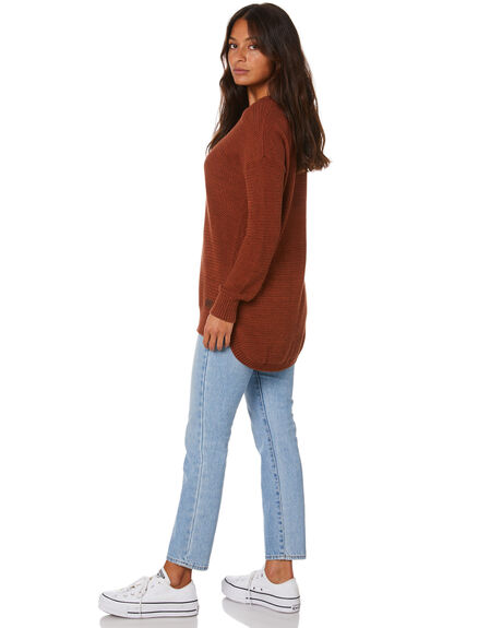 TOBACCO WOMENS CLOTHING RIP CURL JUMPERS - GSWEL18455