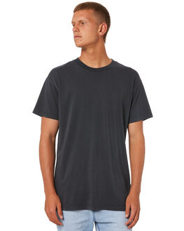 WASHED BLACK MENS CLOTHING BILLABONG TEES - 9572051WSBLK