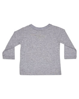 GREY MARLE KIDS BABY ROCK YOUR BABY CLOTHING - BBT196-TTGRYM