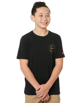 BLACK CAMO GREEN KIDS BOYS HURLEY TOPS - CI7940012