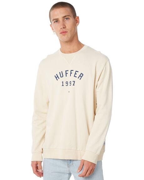 CREAM MENS CLOTHING HUFFER JUMPERS - MCR82S300544CREAM