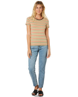 STRIPE WOMENS CLOTHING THE HIDDEN WAY TEES - H8182001STRIP