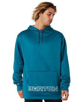 DEEP LAKE TEAL MENS CLOTHING BURTON JUMPERS - 21750100300