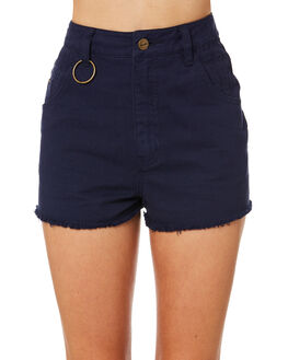 PEACOAT WOMENS CLOTHING AFENDS SHORTS - W184302PEA