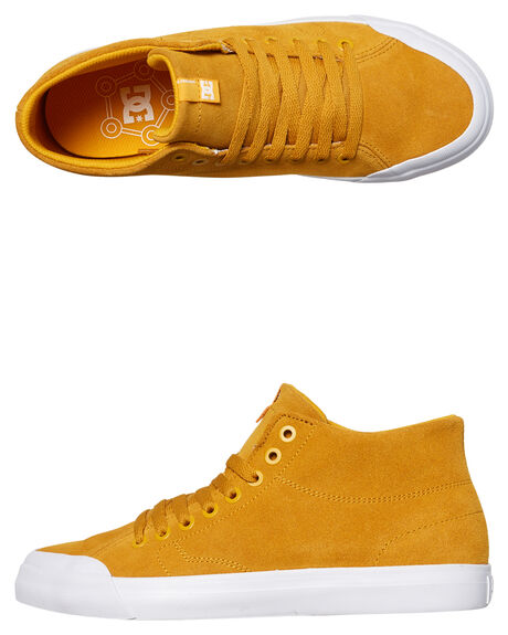 GOLD MENS FOOTWEAR DC SHOES SNEAKERS - ADYS300423711
