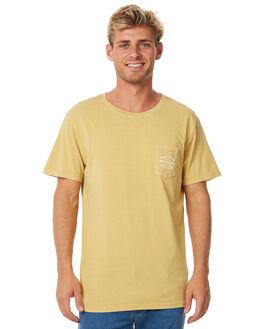 DUSTED TUMERIC MENS CLOTHING RHYTHM TEES - APR18M-PT02TUM