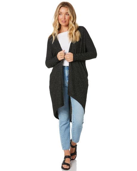 CHARCOAL WOMENS CLOTHING BETTY BASICS KNITS + CARDIGANS - BB730H20CHAR