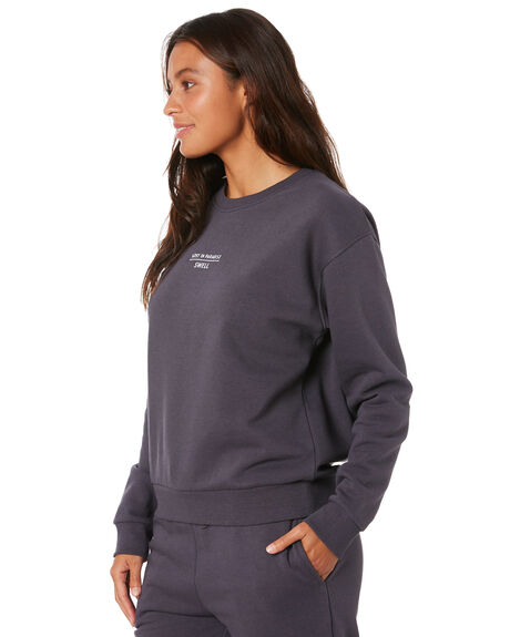 OFF BLACK WOMENS CLOTHING SWELL JUMPERS - S8204542OFFBK