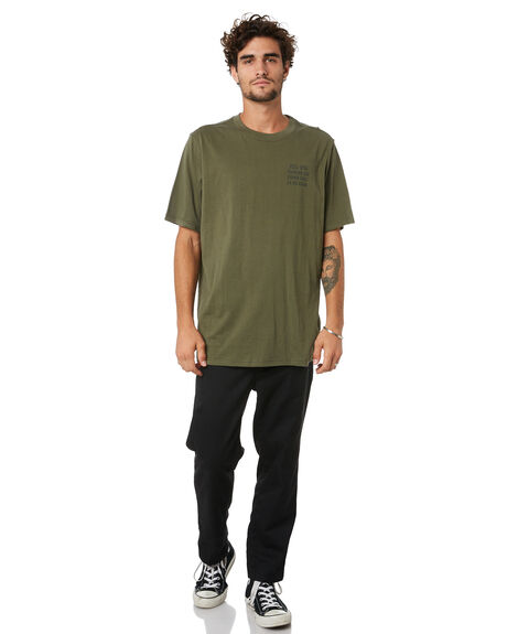 DUSTY OLIVE MENS CLOTHING HERSCHEL SUPPLY CO TEES - 50027-00538