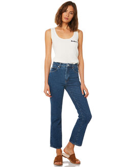 OLD BLUE WOMENS CLOTHING ROLLAS JEANS - 12784-1470