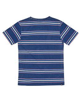 BLUE STRIPE KIDS BOYS ALPHABET SOUP TOPS - AS-KTC8320BLSTR