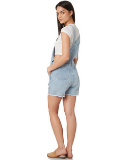 LIGHT BLUE WOMENS CLOTHING SILENT THEORY PLAYSUITS + OVERALLS - 6093117LBU