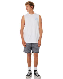 WHITE MENS CLOTHING SWELL SINGLETS - S5202271WHITE