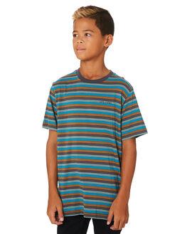 ASPHALT BLACK KIDS BOYS VOLCOM TOPS - C0131900ASB